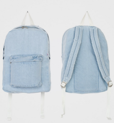 Denim Backpack-NRoH