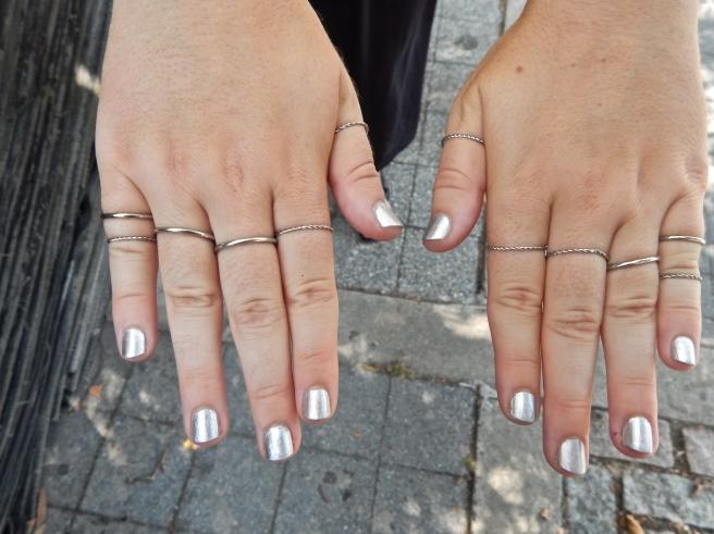 metallic nails nroh