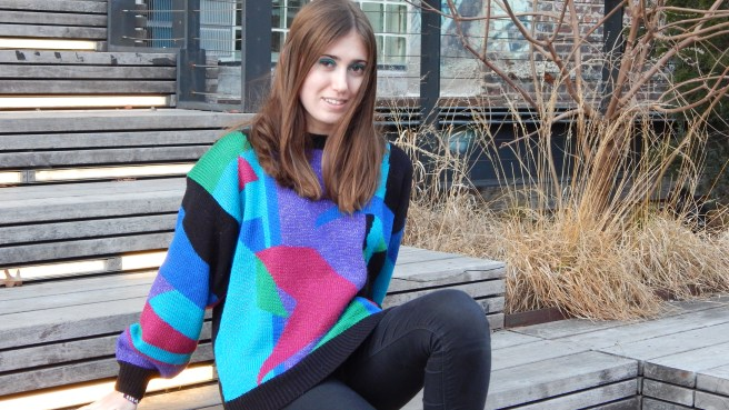 nroh vintage sweater