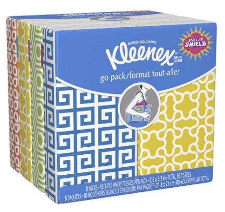kleenex pocket pack