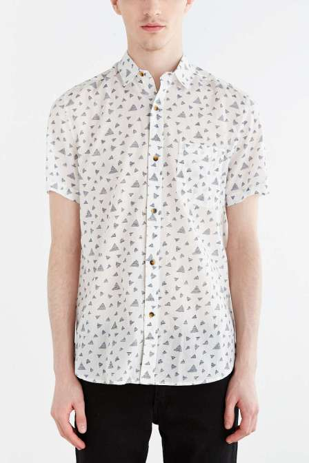 nroh printed shirt