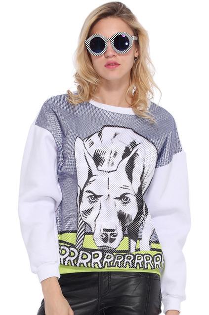 romwe roy sweatshirt