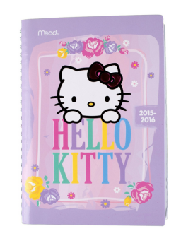 Hello Kitty planner nroh
